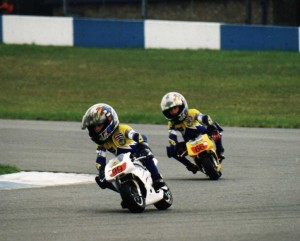 Boys at Donnington - 1st time