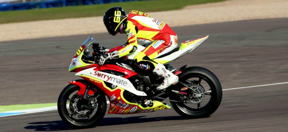 Kurt Wigley at Donington Park – Courtesy of Alan's Photo's