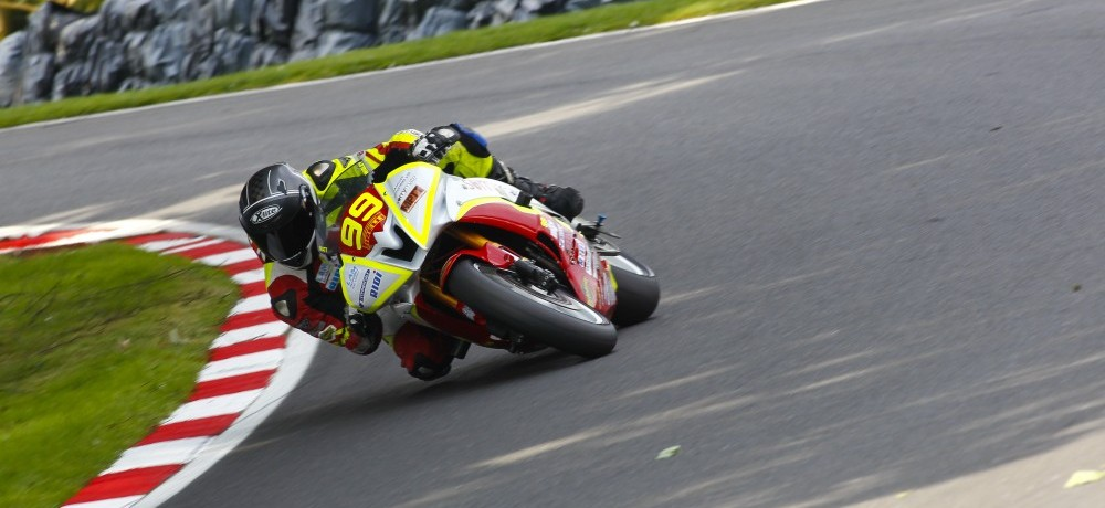 Matt Wigley at Cadwell Park – Courtesy of Jamie Morris Photography